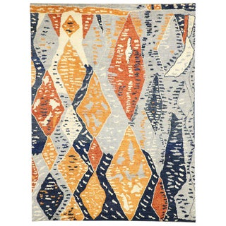 Contemporary Moroccan Inspired Rug - 10′5″ × 13′10″ For Sale