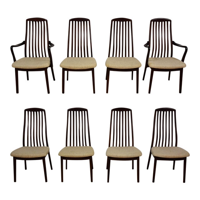 Danish Modern Dining Chairs - Set of 8 - Image 1 of 9