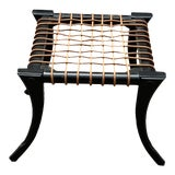 Image of Modern Klismos Style Ottoman For Sale