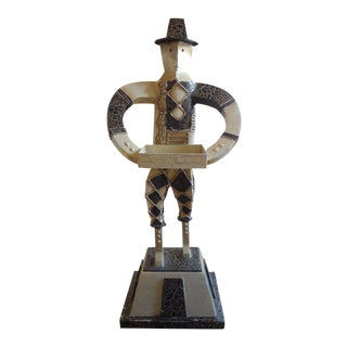 Art Deco Cubist Sculpture For Sale