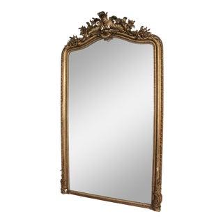 French Rococo Gold Gilt Mirror