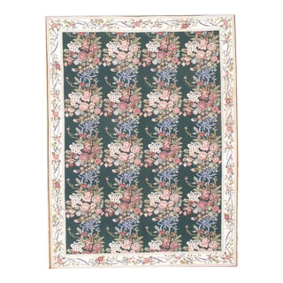 "Pasargad N Y Aubusson Flat Weave Rug - 8'7"" X 11'6"" For Sale"