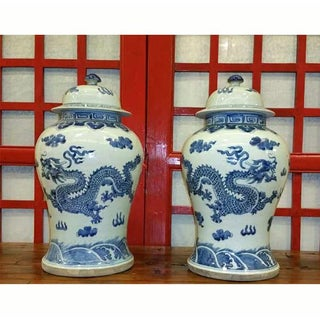 Chinese Blue and White Porcelain Jar Preview