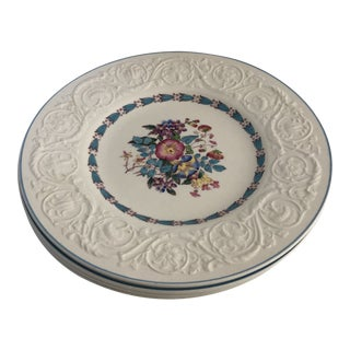 Vintage Wedgwood Patrician Morning Glory Set of 4 Dinner Plates For Sale