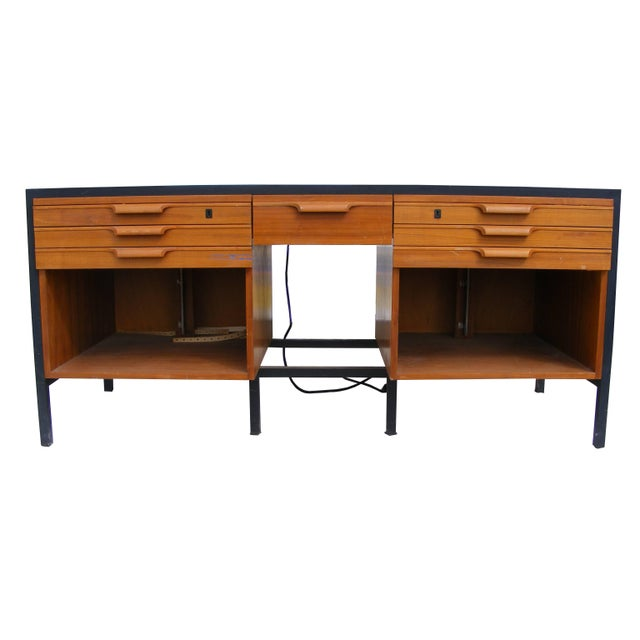 Mid-Century Modern George Nelson Style Photography Slide Cabinet Elden Enterprises For Sale - Image 3 of 9
