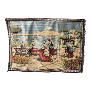 Mid-Century Italian Tapestry For Sale