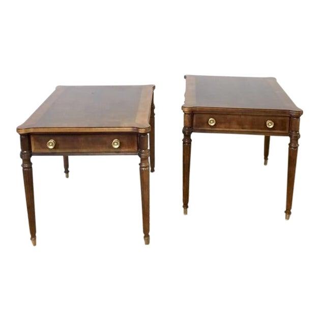 Vintage Henredon Side Tables A Pair