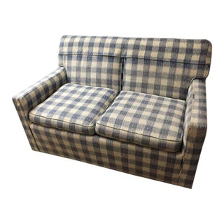Mid-Century Brunschwig & Fils Kravet Furniture Loveseat Sofa For Sale