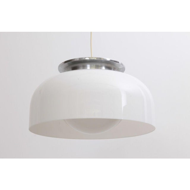 Mint Luigi Massoni pendant lamp by Guzzini with 1 X E27 / Model A fitting. Wiring is in good condition, but should still...