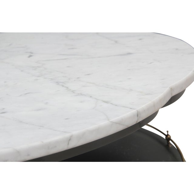 Quatrefoil Two Tier Table - Image 4 of 7