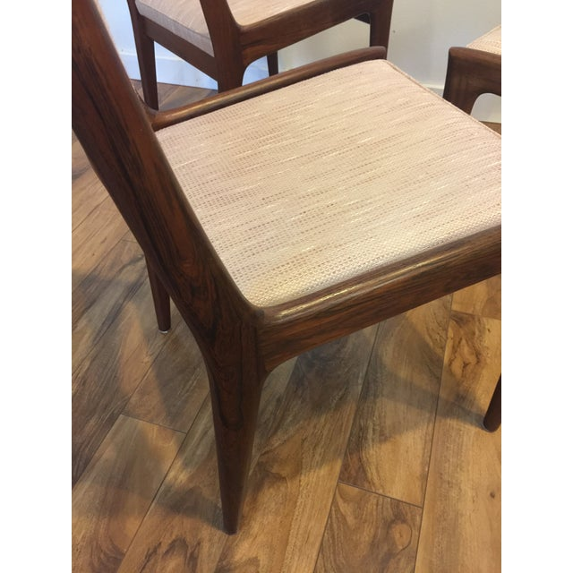 Karl Erik Ekselius for JOC Rosewood Dining Chairs- Set of 6 - Image 7 of 7