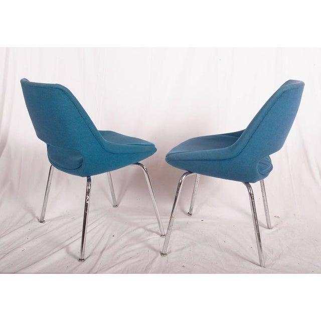 Mid-Century Chairs by Olli Mannermaa for Martela Oy - A Pair For Sale - Image 6 of 11