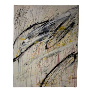 """""""Lebenswelt"""" Contemporary Abstract Mixed-Media Painting by Brian Jerome For Sale"""