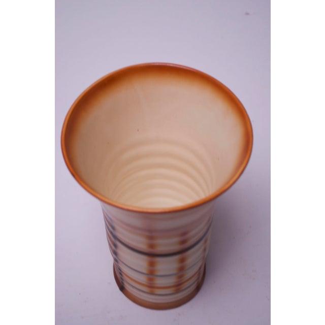 Mid-Century Modern Vintage Erphila Bohemian Art Pottery Vase For Sale - Image 3 of 10