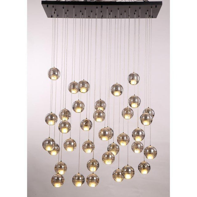Modern Meteor Shower Chandelier For Sale - Image 10 of 11