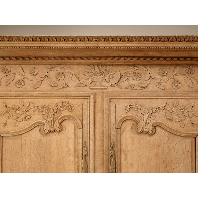 18th C. Antique French Oak Normandy Buffet - Image 4 of 10