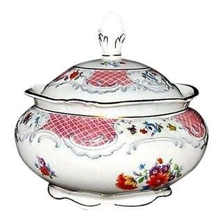 1940s Traditional Schumann Bavaria Covered Sugar Bowl