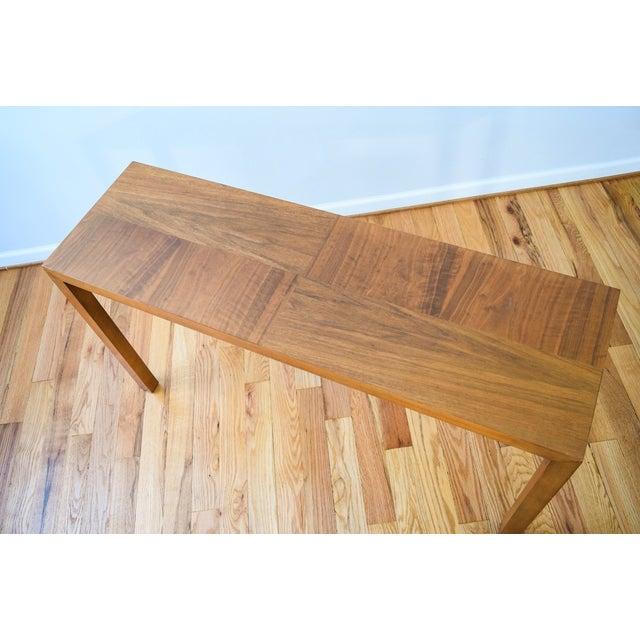 Mid-Century Vintage Lane Sofa Console Table - Image 7 of 9