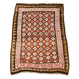 Geometric Caucasian Zakatala Rug For Sale