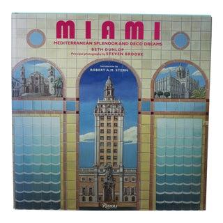 """Miami: Mediterranean Splendor and Deco Dreams"" Coffee Table Book For Sale"