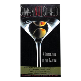"""""""Shaken Not Stirred"""" Cocktail Book For Sale"""