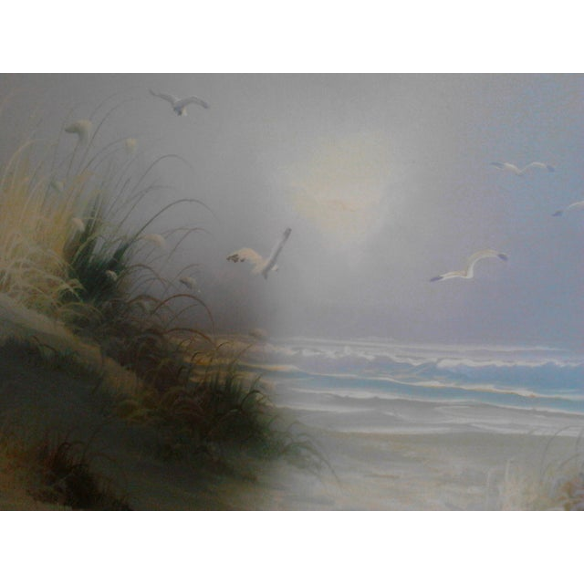 """""""Ocean"""" by John Leman, Oil Painting For Sale - Image 5 of 7"""