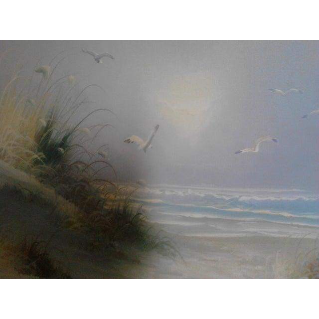 """""""Ocean"""" by John Leman, Oil Painting - Image 5 of 7"""