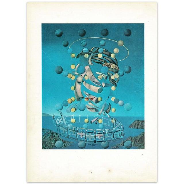 "Turquoise 1957 Salvador Dalí ""Assumpta Corpuscularia Lapislazulin"" Vintage Lithograph Print For Sale - Image 8 of 9"
