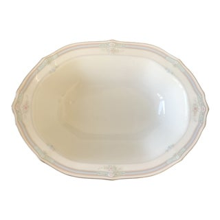 Noritake Rothschild White Oval Vegetable Bowl