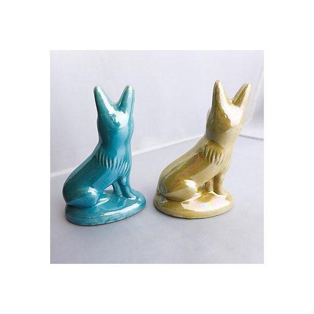 Vintage 1970s Porcelain Shepherds - A Pair For Sale - Image 5 of 6