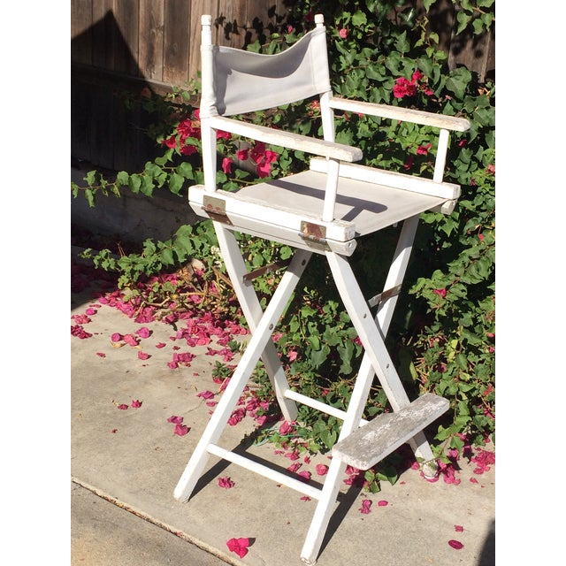 Shabby Chic Director's Chair For Sale - Image 9 of 9