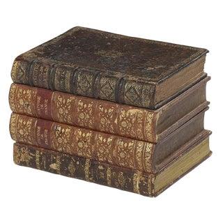 Leather Book Cruet Box For Sale