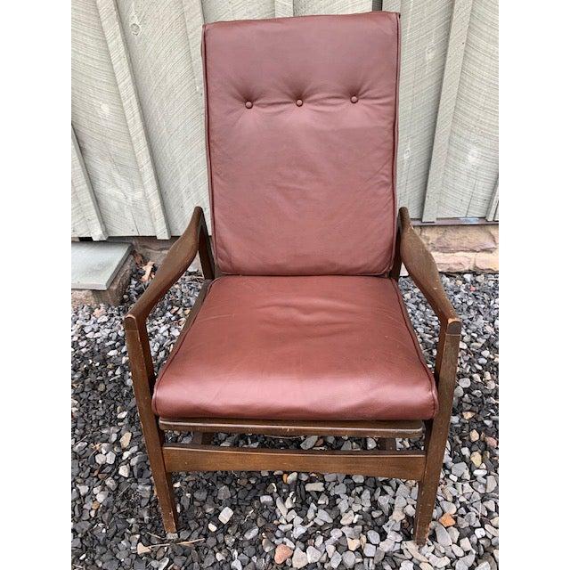 Mid-Century Modern Mid Century Danish Modern Rocker Chair For Sale - Image 3 of 8