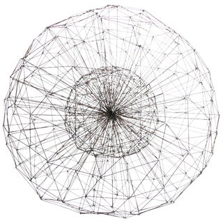 Harry Bertoia Style Dandelion Sculpture For Sale