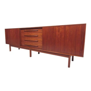 Danish Teak Sideboard by Holmris Hansen