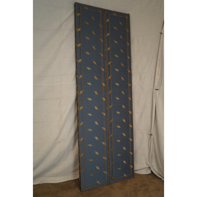 Quality Upholstered Tall Folding Screen - Image 10 of 10