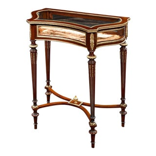 19th Century Louis XVI Style Display Table For Sale