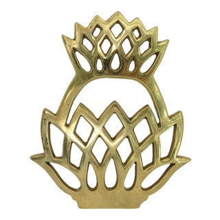 VA Metalcrafters Pineapple Trivet For Sale