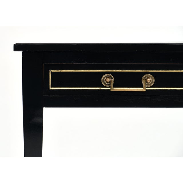 French Louis XVI Style Mirror Top Desk For Sale - Image 4 of 10