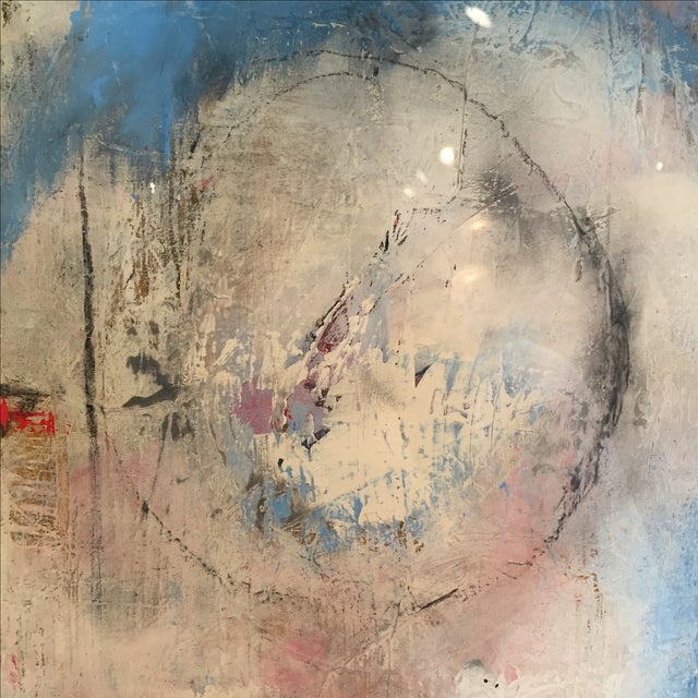 "Taffi Laing ""Poem"" Abstract Original Painting - Image 7 of 8"