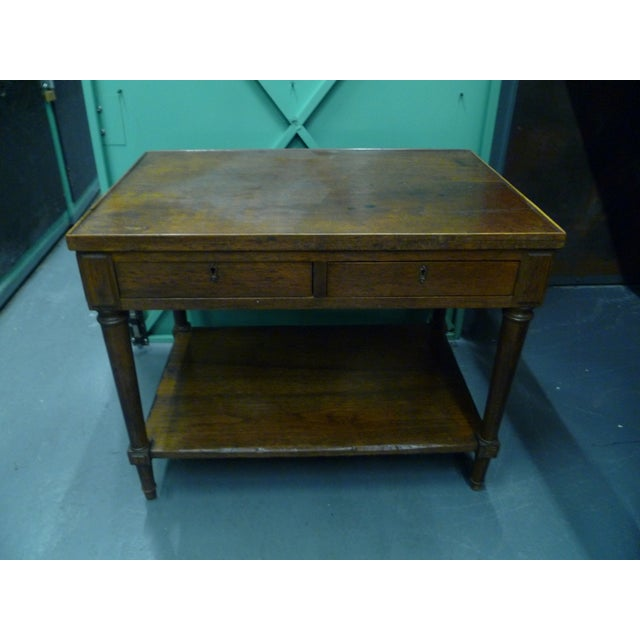 Antique French Mahogany Side Tables - Pair - Image 2 of 11