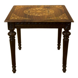 Eleni Solid Rosewood Side Tables - A Pair For Sale