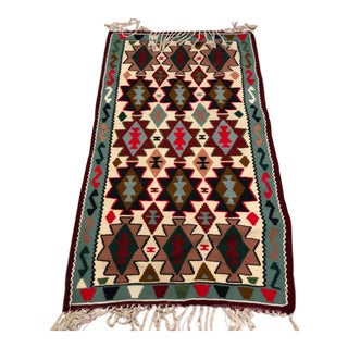 Handmade Persian Rug / Carpet - 3′ × 6′ For Sale