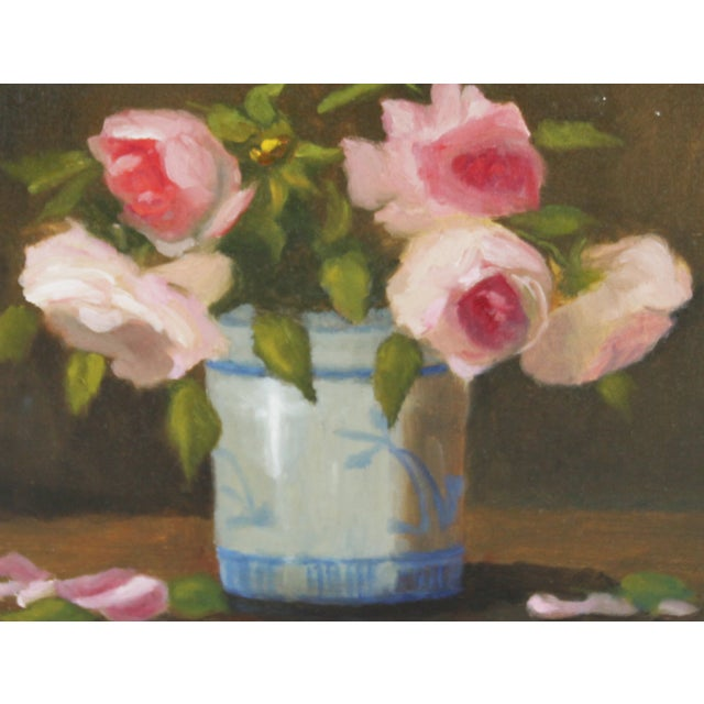 Floral Still Life Oil Painting - Image 2 of 2