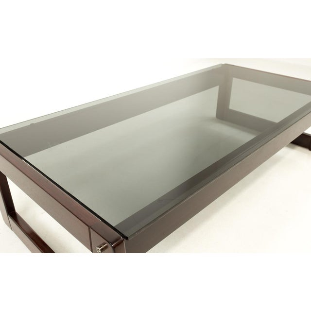 Percival Lafer Brazillian Rosewood Coffee Table For Sale In Chicago - Image 6 of 9