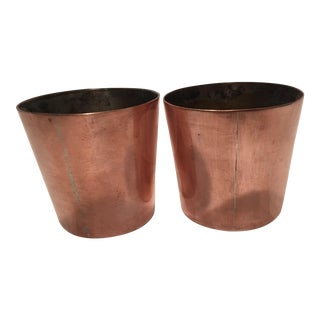 19th Century Copper Molds - a Pair