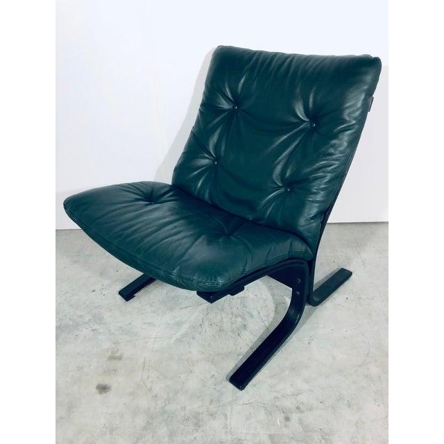 "Green Ingmar Relling for Westnofa ""Siesta"" Chair, Vintage 1970s For Sale - Image 8 of 12"