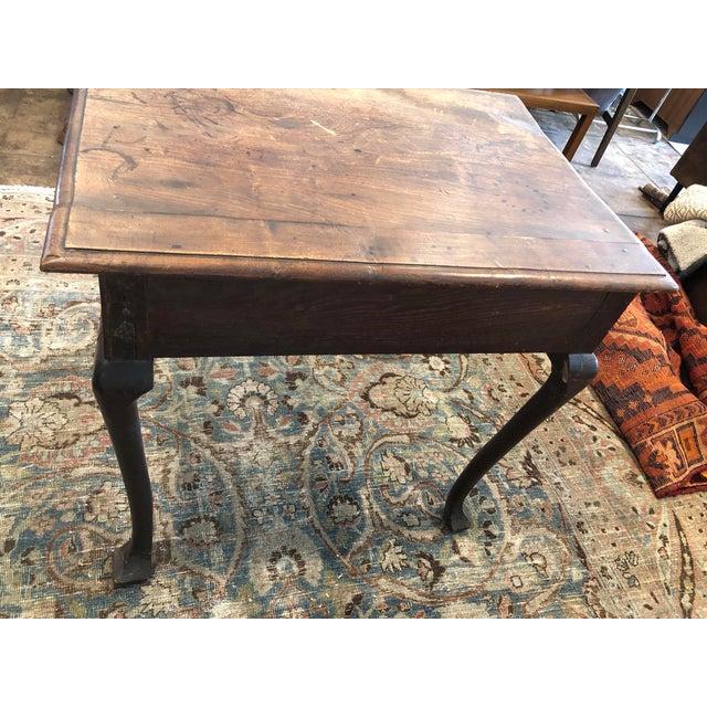Farmhouse Antique English Farmhouse Mahogany Writing Table For Sale - Image 3 of 13