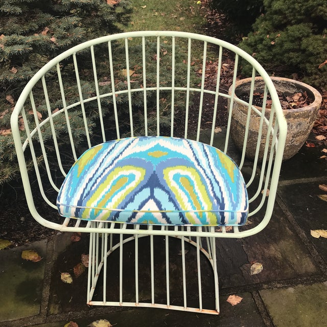 Mid-Century Indoor Outdoor Trina Turk Chairs - a Pair - Image 3 of 9