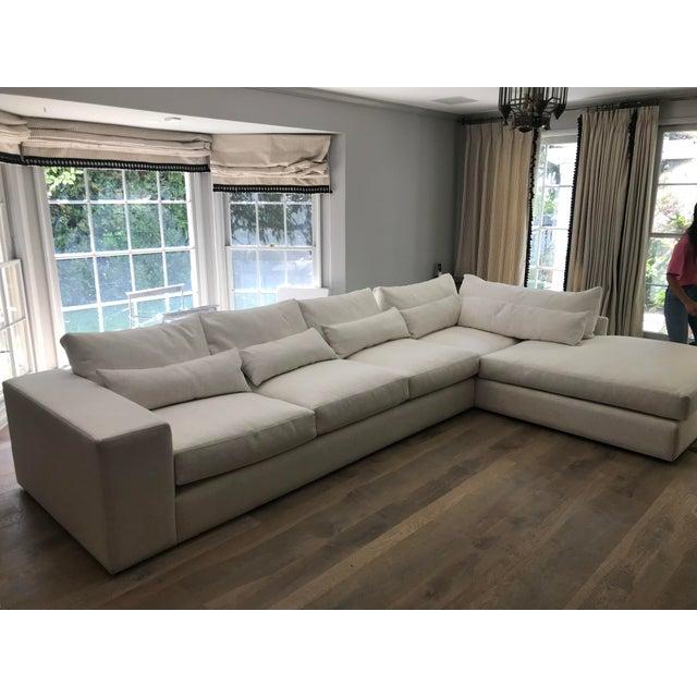 White L Shaped Sectional Sofa Chairish